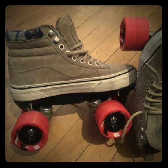 Custom Vans Roller Skates